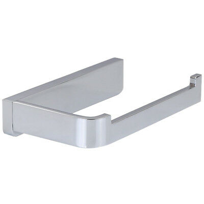 Solid Brass Silver Wall Mounted Toilet Paper Holder Finish Contemporary PK E7K3