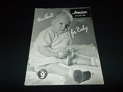 Vintage~Lincoln Baby Knitting Book #690~Handknits For Baby~6 Designs~Romper Sets