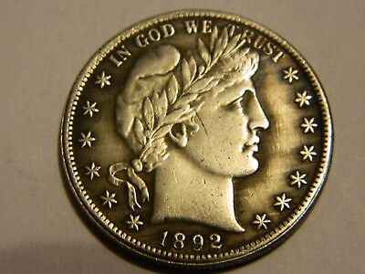 1892/1893 Barber Half Dollar Two Face Coin  --NR No Reserve----Lot #2167