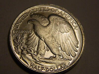 Walking Liberty Half Dollar Two Face Coin  --- NR No Reserve