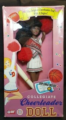 South Carolina Collegiate Cheerleader Doll With A Diploma~Barbie Type~VERY RARE!