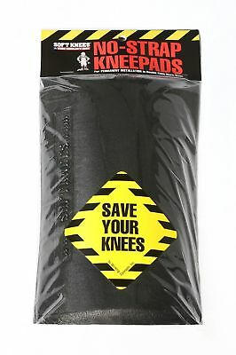 Soft Knees - Easily Installed, No Strap Knee Pads For Those Who Frequently Kn...