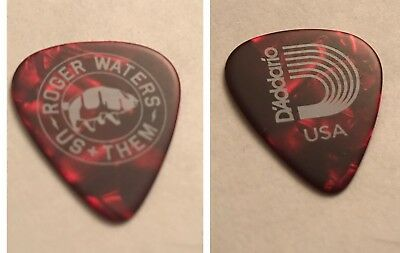 Guitar Pick Roger Waters 2017 US + THEM tour guitar pick Pink Floyd Wall DSOTM