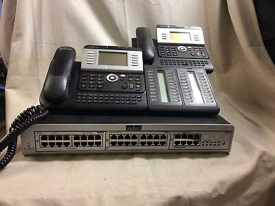 Alcatel - Lucent OmniPCX Phone System PLUS 14 Desktop Phones