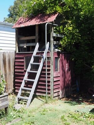 Cubby house, timber, 2 levels