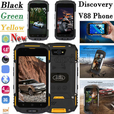 Discovery V88 Smartphone Shockproof Rugged Android5.1 Mobile Cell Phone MTK6580