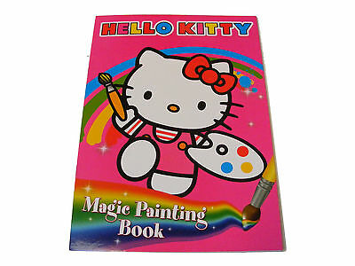 niños infantil Hello Kitty magia libro pintura - Just Añada WATER A REVEAL COLOR