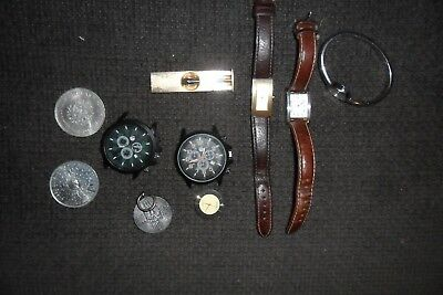 Joblot Old Watches/ Spares/ Not Working / Broken+Other Items**