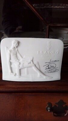 lladro collectors plaque