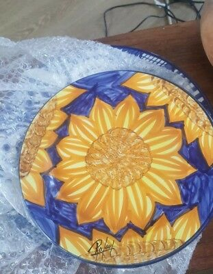 Lovely handpainted signed display plate