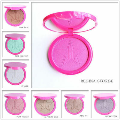 5 STYLE Jeffree Star Beauty Makeup Frost Highlighter Face Shadow Glow Kit Powder