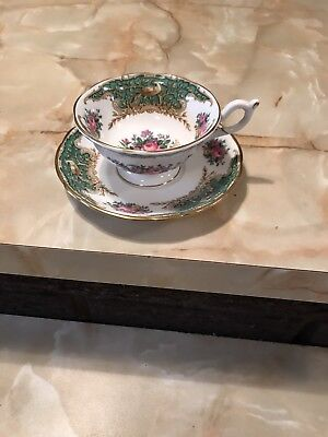 Coleport Tea Cup And Saucer