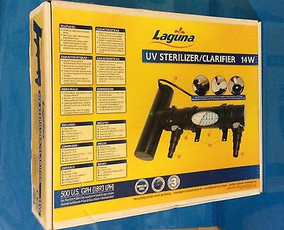 Laguna Pond  UV Sterilizer / Clarifier 14w 28w Unit Fish Pond Greenwater Control