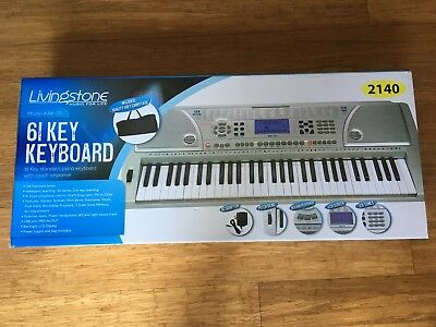 Livingstone 61 Key Keyboard Electronic Piano