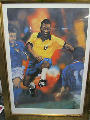 Limited Edition Signed Pele Oil Painting