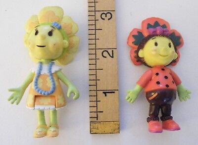 "Fifi & the Flowertots - Figures x2 - 3"" tall approx"