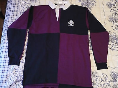 Trikot SCOTLAND Rugby Polo Shirt Size M Rugby Nations Escocia Talla M