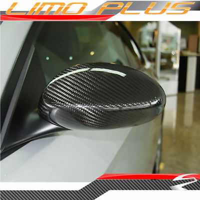 BMW 3 Series E92 E93 2005 - 2008 Real Carbon Fiber Mirror Cover Caps Trim bm13