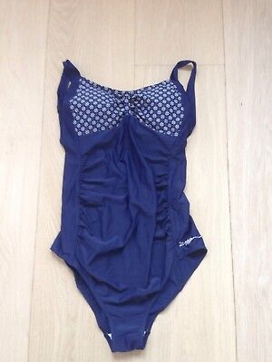 Zoggs Maternity Swimsuit Blue Size 14
