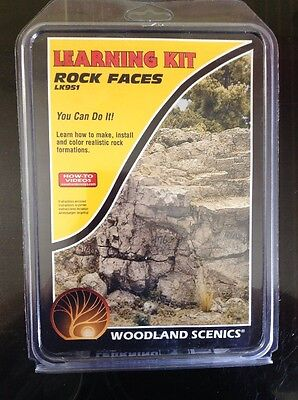Woodland Scenics LK951. Learning Kit - Rock Faces