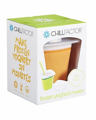 Chill Factor Frozen Yoghurt Maker Joghurtbereiter orange