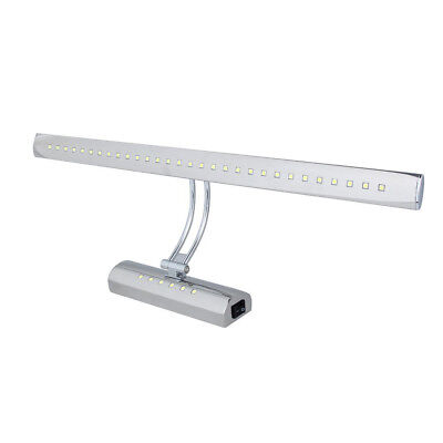 7W Dual Light Source LED Mirror Light Stainless Steel Bathroom Light Cabine A2X5