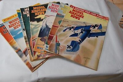 Model Airplane News 1950