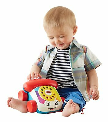 Baby Toys Games Fisher Price Chatter Telephone Classic Pull Toy Free Delivery