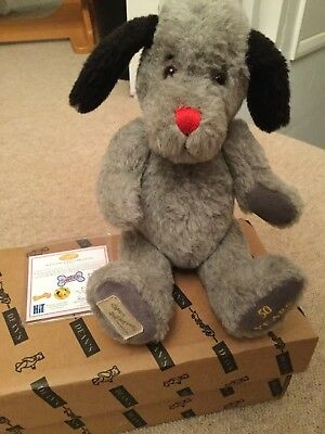 deans limited edition collectors bear sweep from sooty show 33/4950 50 years