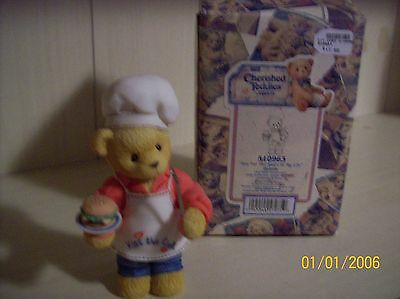 "Cherished Teddies - Dennis ""You Put The Spice In My Life"" 1999 Event Piece"