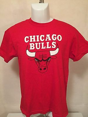 NBA Chicago Bulls #1 YOUTH LGE Primary Logo Printed Tee by Majestic