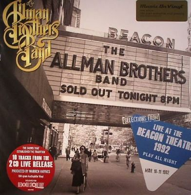 The Allman Brothers Band 2 LPVinyl Live At The Beacon Theatre 1992 RSD 2014 NEW