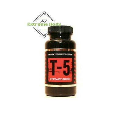 Zion Labs T-5 the best thermogenic fatburner 60 caps