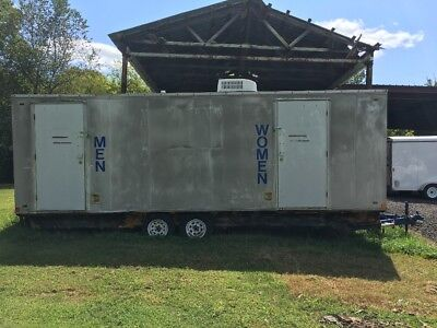 Restroom Trailer - self-contained