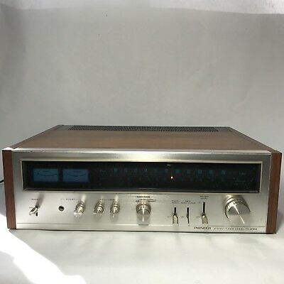 Pioneer TX-9100 Vintage Stereo Tuner AM FM Stereo