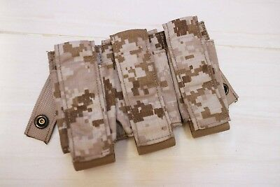 Used Eagle Industries 5A1 AOR1 MOLLE triple 40mm rds pouch lbt crye