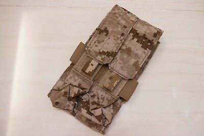 Used Eagle Industries 2012 5A1 AOR1 MOLLE MP7 double mag pouch lbt crye aor2