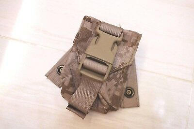 Used Eagle Industries 2008 DIG2 AOR1 MOLLE Frag nade pouch Navy Seals lbt aor2