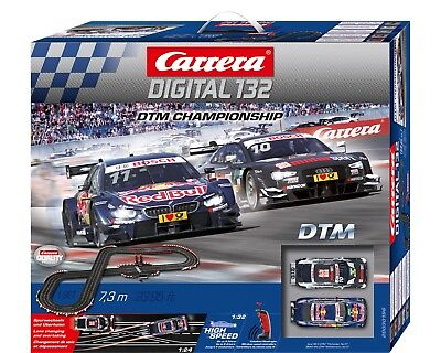 Carrera Digital 132 DTM CHAMPIONSHIP Startset with Wireless Regulators 30196