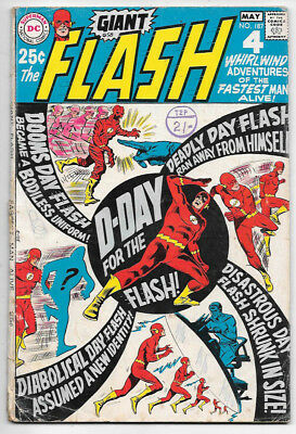 The Flash #187 (1969; fn 6.0) 80pg giant - 50% off price guide value