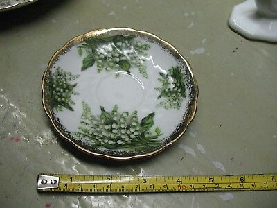 Original  Napco  Hand   Painted  Saucer  Idd  240  Mint  Condition