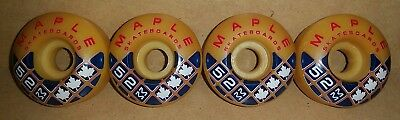 Rare nineties 90s Vintage NOS Maple skateboard wheels