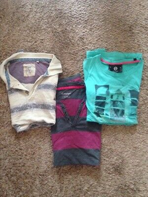 Bundle of XXL men's tops. Good quality, simply outgrown.