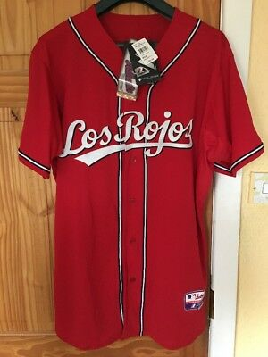 Majestic Authentic Cincinnati Reds Jersey Size XL 46 - 48 Inch Chest