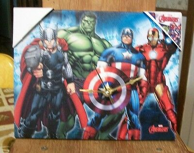 Avengers  Super Heroes Wall or Desk Clock