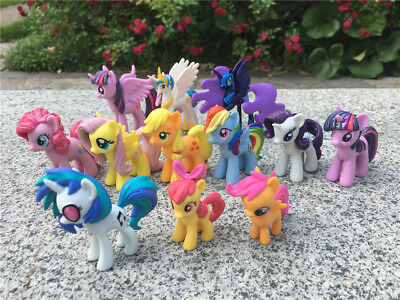 "Geniune My Little Pony MLP 2"" Toy Figures Choose Favorite Characters New Loose"