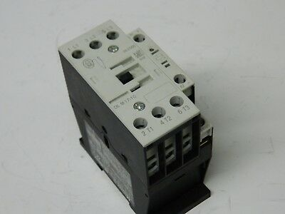 Moeller DIL M17-10 3 polo 10.5kw 10hp motor Contactor 24vdc Coil.