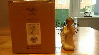 Willow Tree ANGEL OF PRAYER   Hanging Figurine Ornament By Susan Lordi