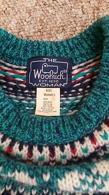 Vintage Woolrich Nordic Christmas jumper size S/M