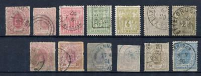 1859+ Luxembourg,Coat of Arms,Lot Collection Mint/Used Stamps